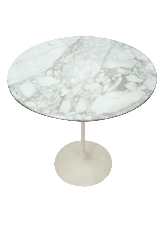 Saarinen 50 Tulip white marble endtables57 detail4 hires.jpg