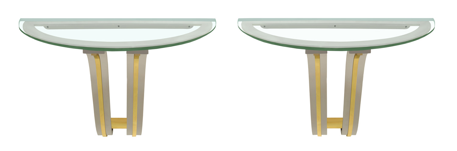 Springer 130 Pair of Tulip wall mounted 2Xconsoletable66 hires.jpg