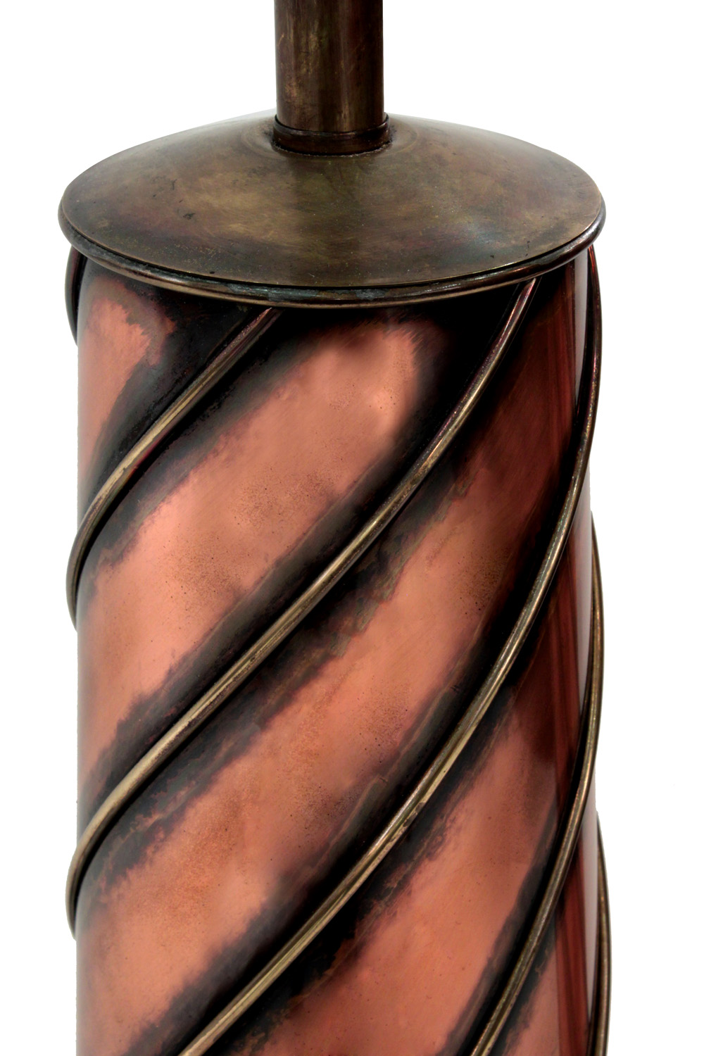 40's 85 French copper+brass swirl tablelamps322 detail2 hires.jpg