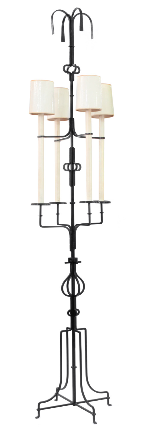 Parzinger 12 huge wrt iron 4 lite floorlamp157 hires.jpg