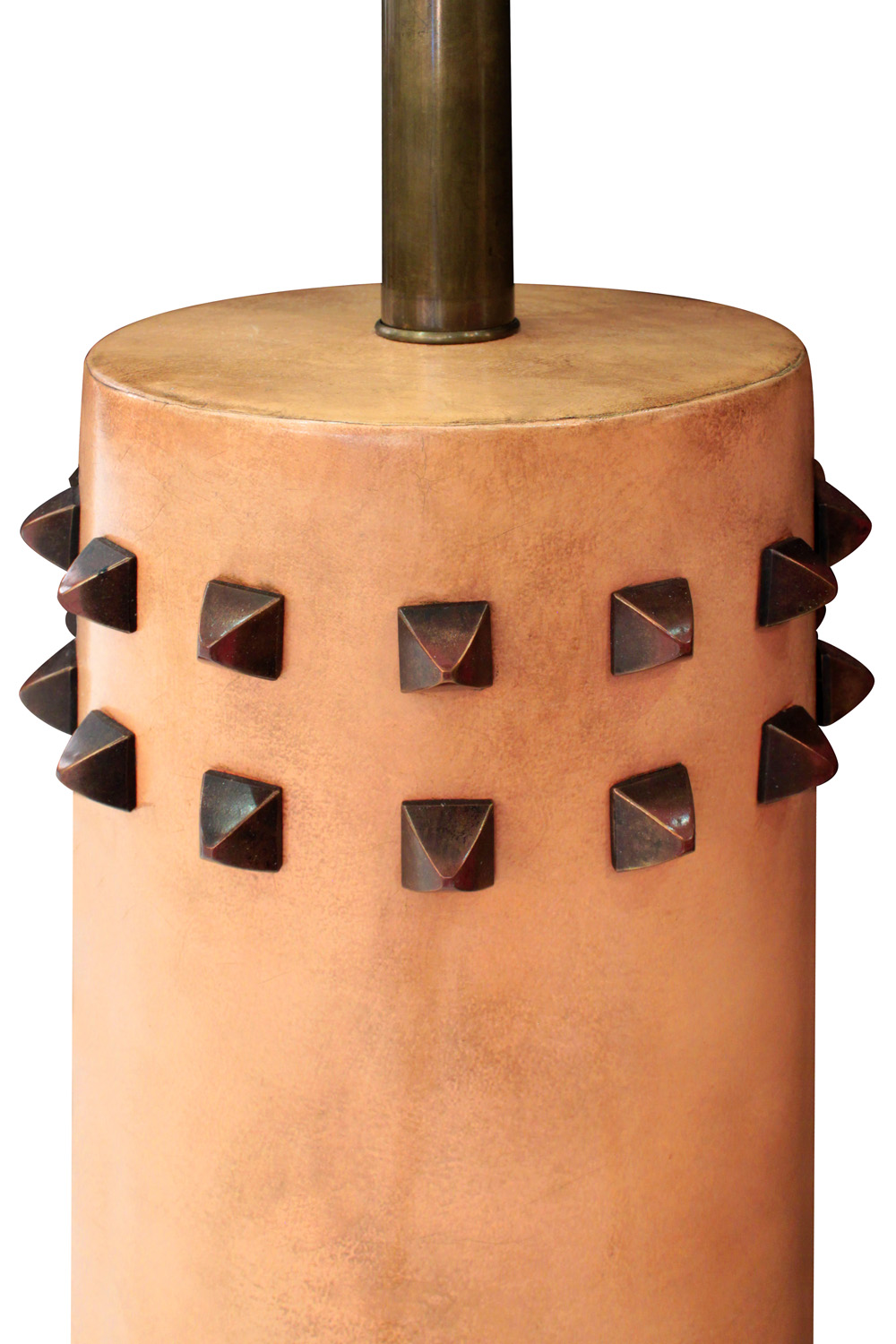 French 100 40s leather studded tablelamps323 detail1 hires.jpg