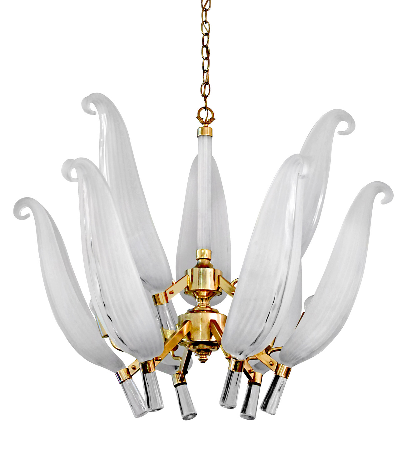 70s Murano 2 tier glass leaves chandelier184 hires.jpg