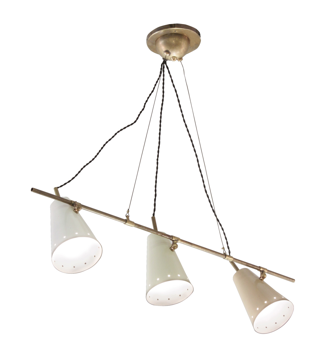 Arredoluce 55 cone shades on rod chandelier208 detail1 hires.jpg