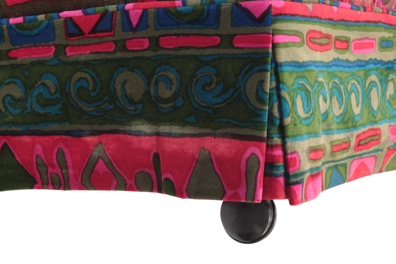 50s 25 tufted Caravan fabric ottoman13 wheel hires.jpg