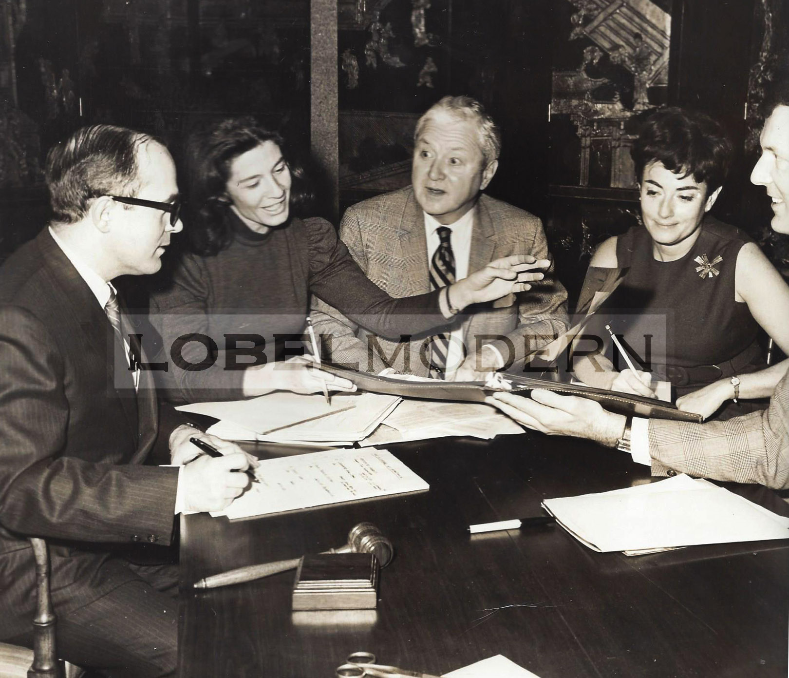 Photo from Wormley Archive at Lobel Modern