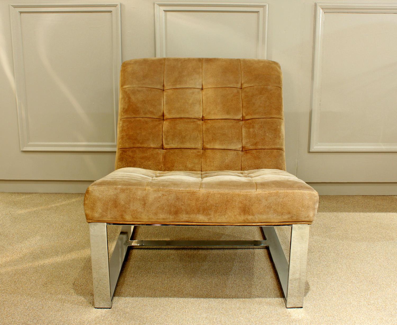 Baughman 95 tufted chrome bases slipperchairs38 main2.jpg