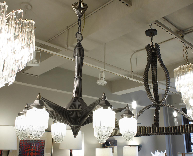 Art Deco 120 6 light nickle chandelier19 hires detail3.jpg
