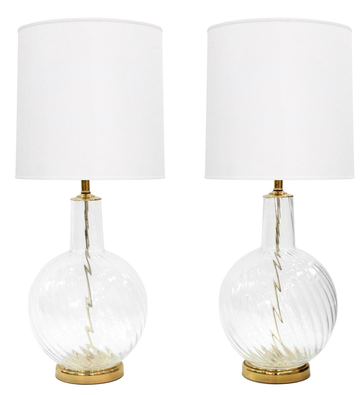 Murano 55 lrg clear swirl brass tablelamps314 hires.jpg