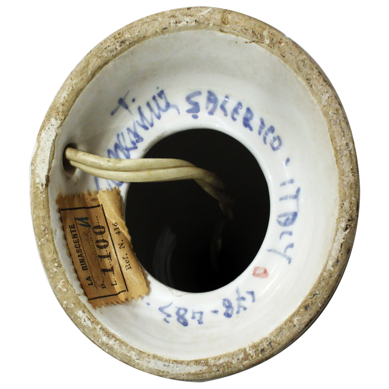 Italian 06  La Rinascente ceramic yllo+blk+wht tablelamp10 hires sign.jpg