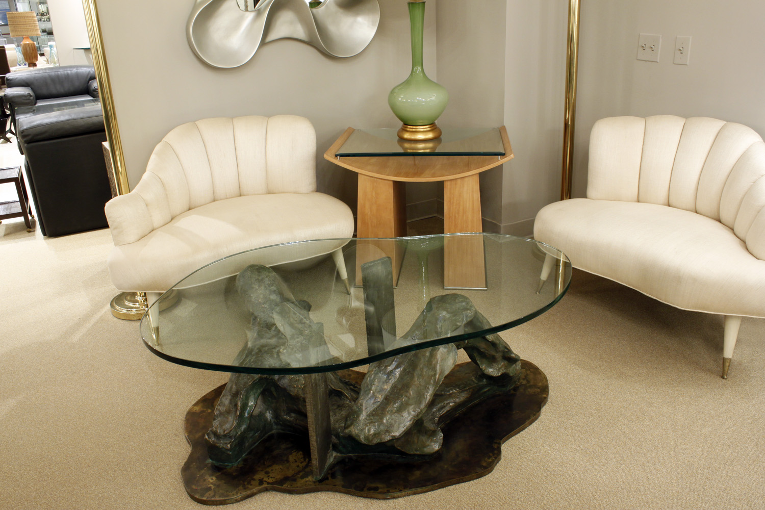 Laverne 450 Solitued male reclining bronze coffeetable361 hires atm.jpg