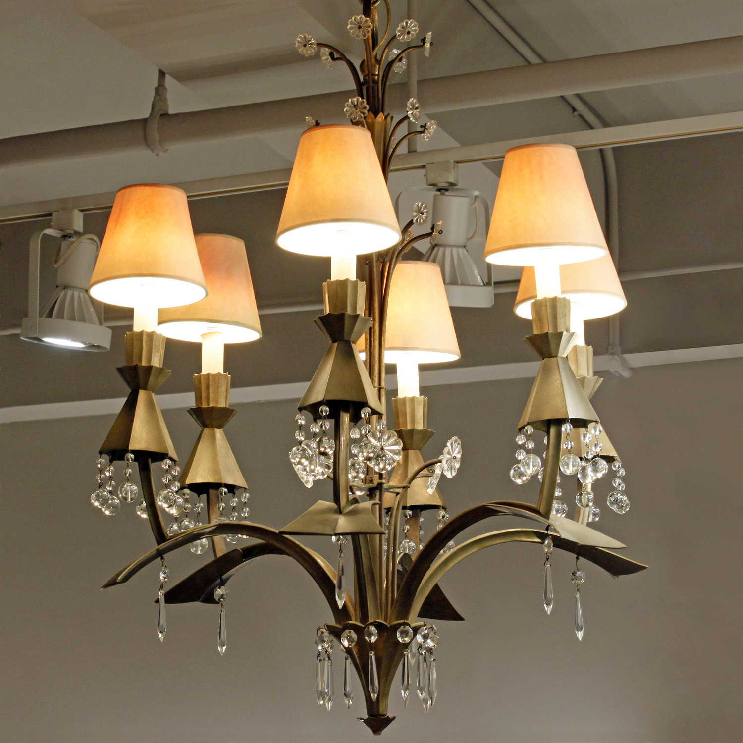 French 75 40s bronze+crystal blls chandelier225 hires main.jpg