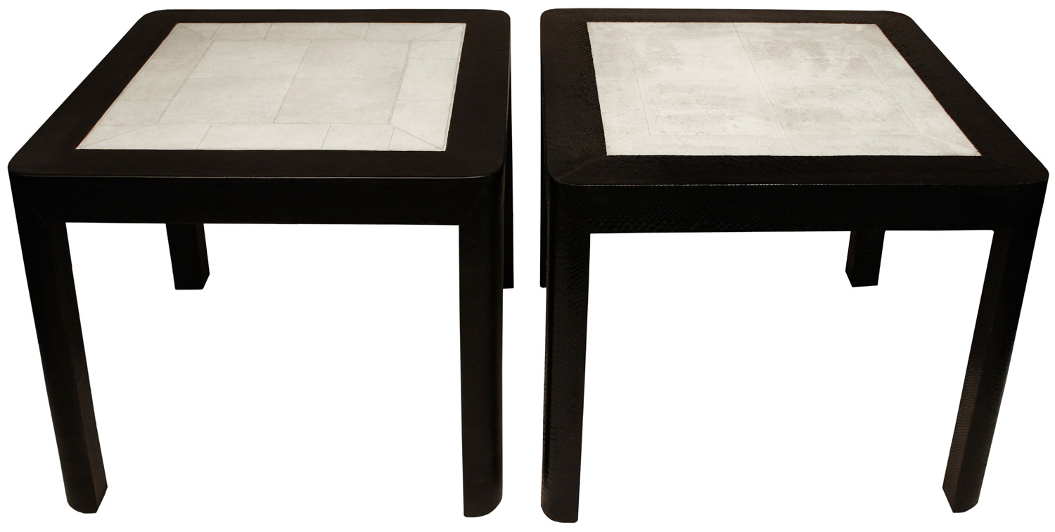 Springer 180 pr of complementary shagreen top endtable92&93 hires crop.jpg