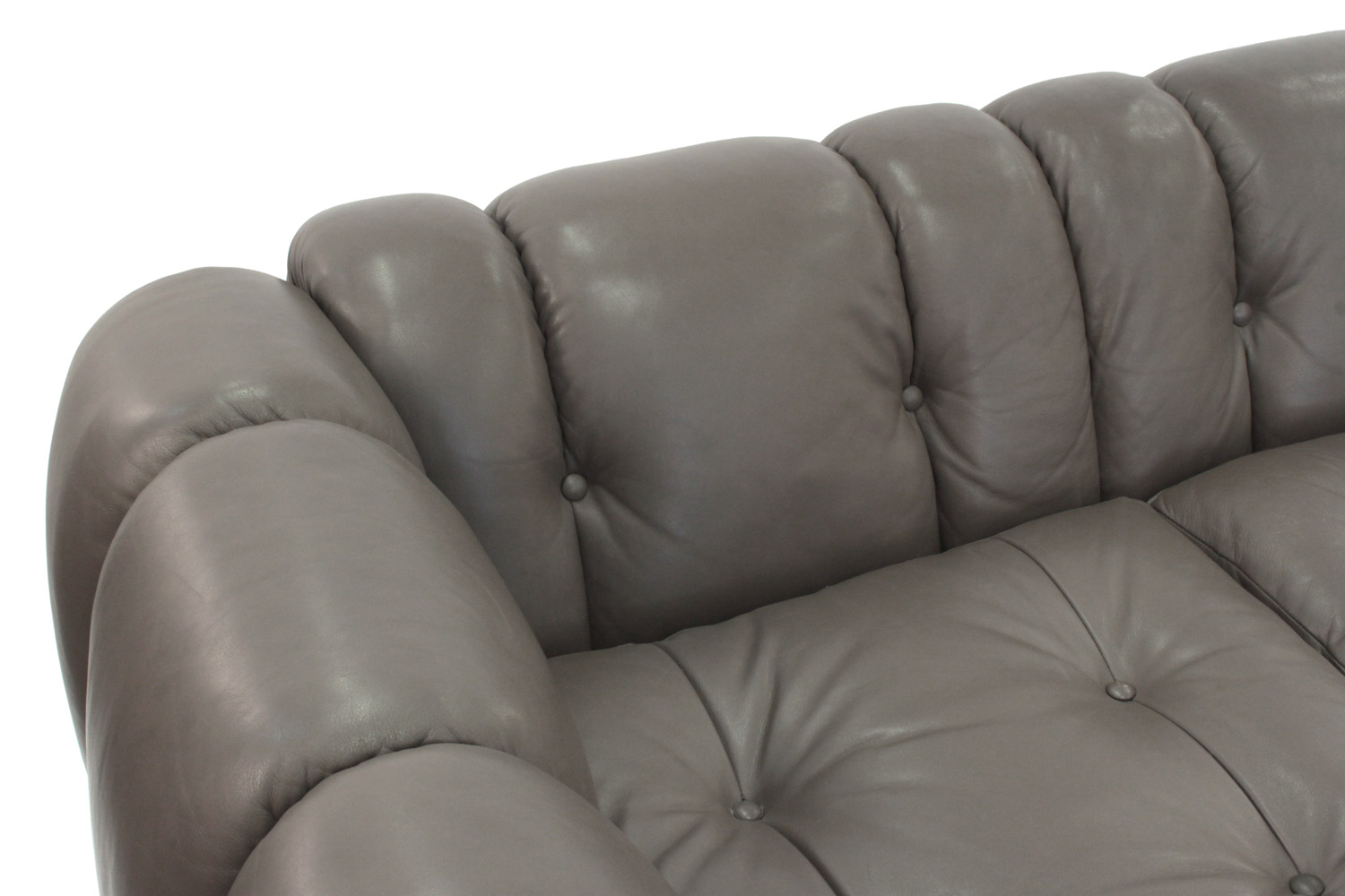 Pace 95 putty leather steel base sofa84 corner hires.jpg