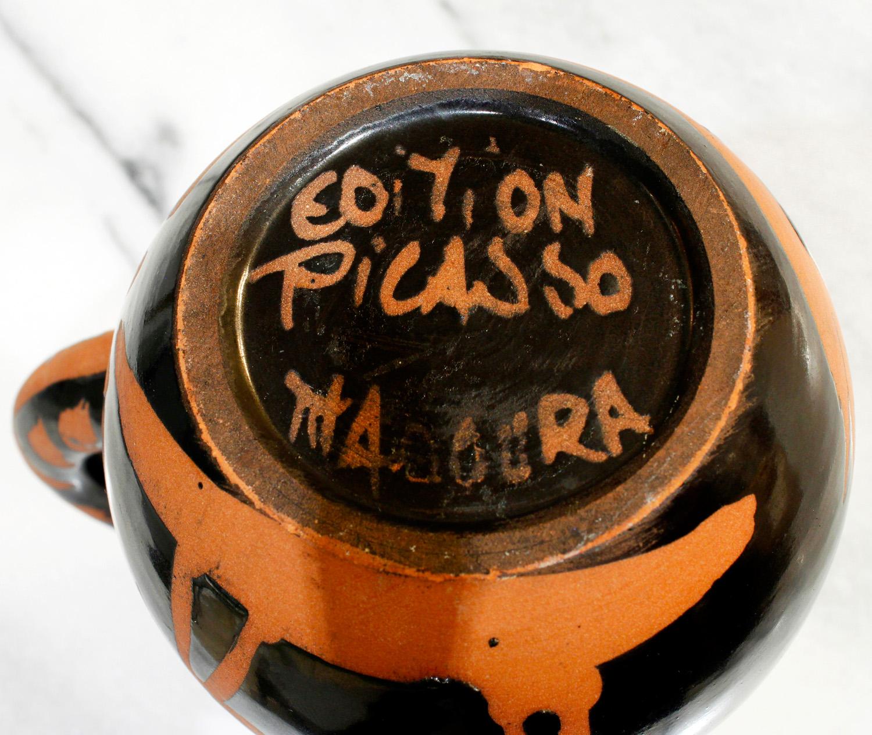 Picasso 50 picador pitcher ceramic41 sign.jpg