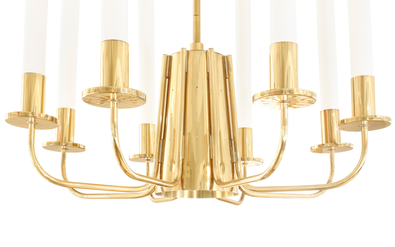 Parzinger 150 lrg 8 arm brass chandelier227 bottom.jpg