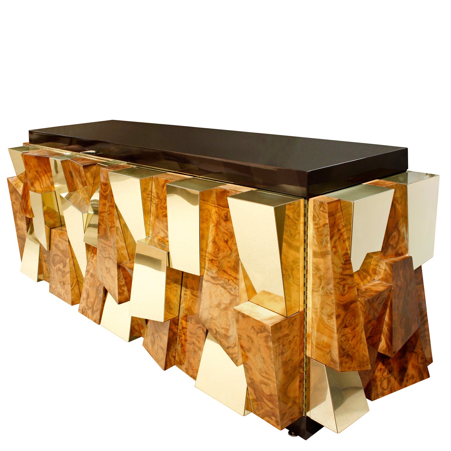 Evans 900 faceted burl+brass credenza61 angle.jpg