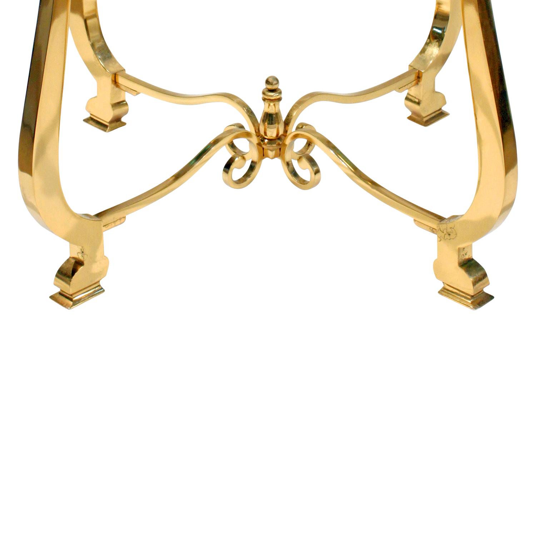 Paul M Jones 75 round brass+glass endtable171 dtl3.jpg