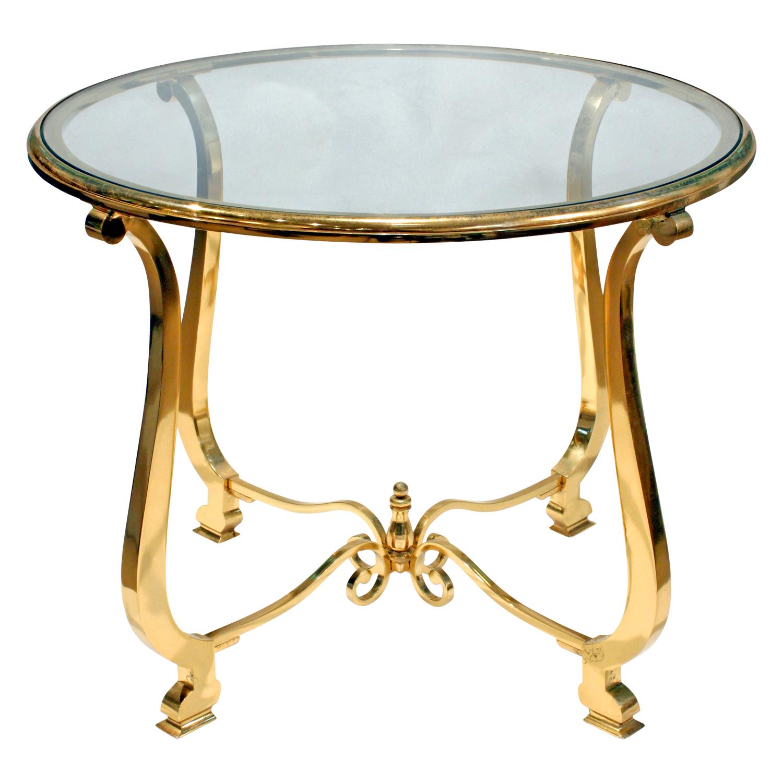 Paul M Jones 75 round brass+glass endtable171 fnt.jpg