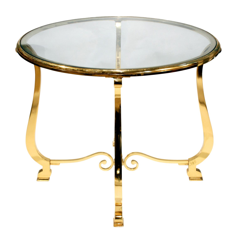 Paul M Jones 75 round brass+glass endtable171 sid.jpg