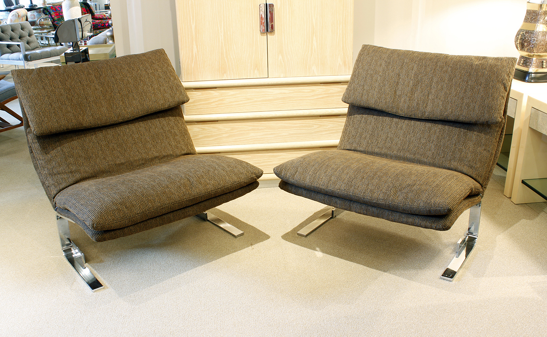 Saporiti 85 Onda steel armless loungechairs161 atm.jpg