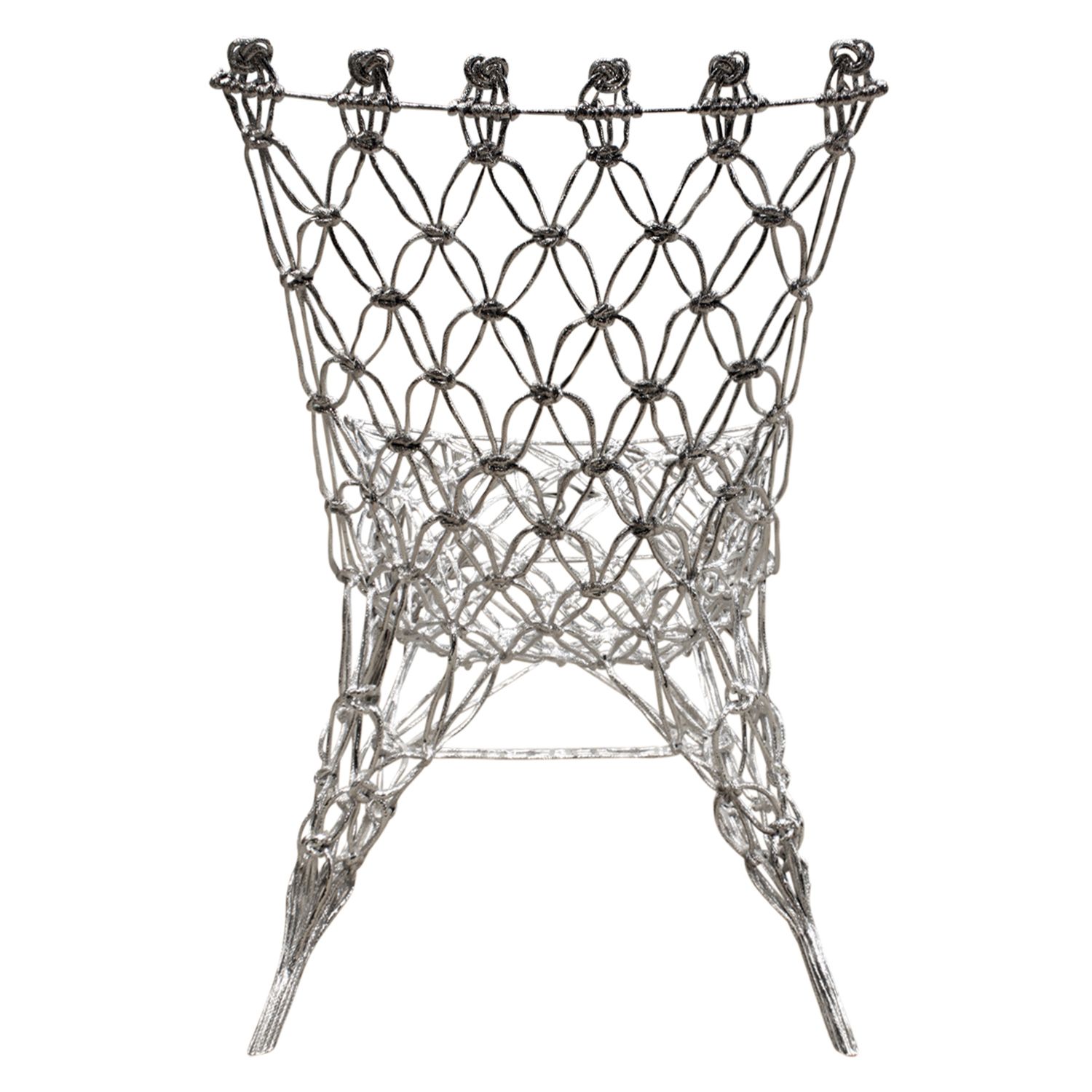 Wanders 65 knotted rope chrome loungechair97 bak.jpg