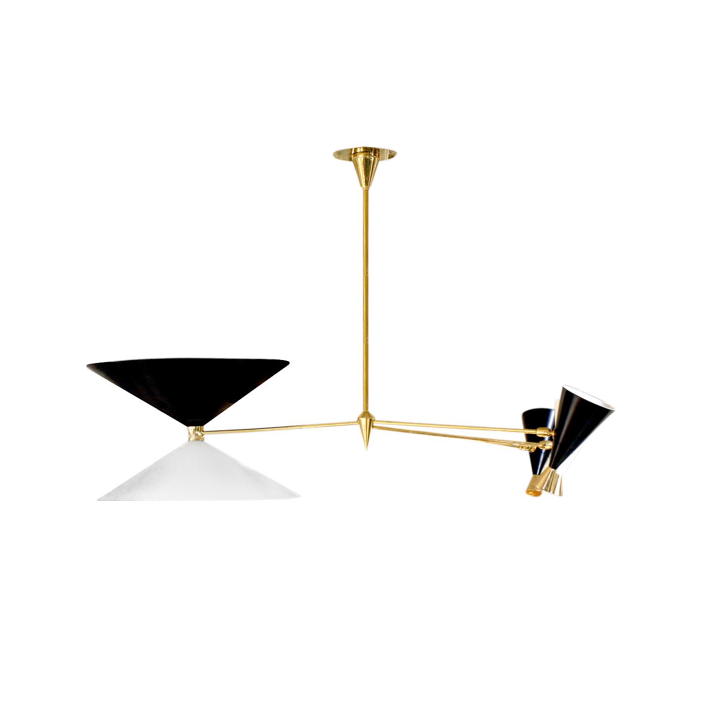 Arredoluce 300 3 sml cones chandelier234 main.jpg