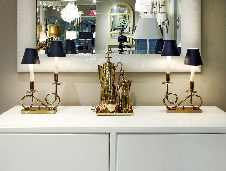Parzinger 25 pair brass 2 lights tablelamps20 atm.jpg