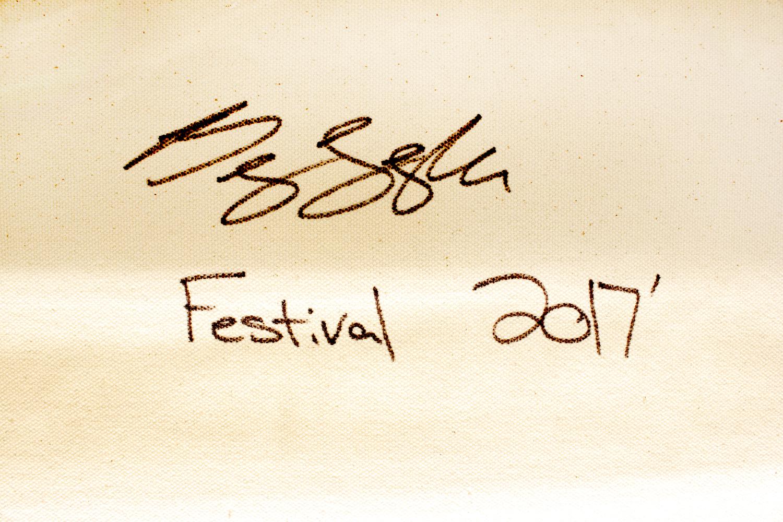 BRADY LEGLER __Festival__40x60 Acrylic on Canvas 3 sign.jpg