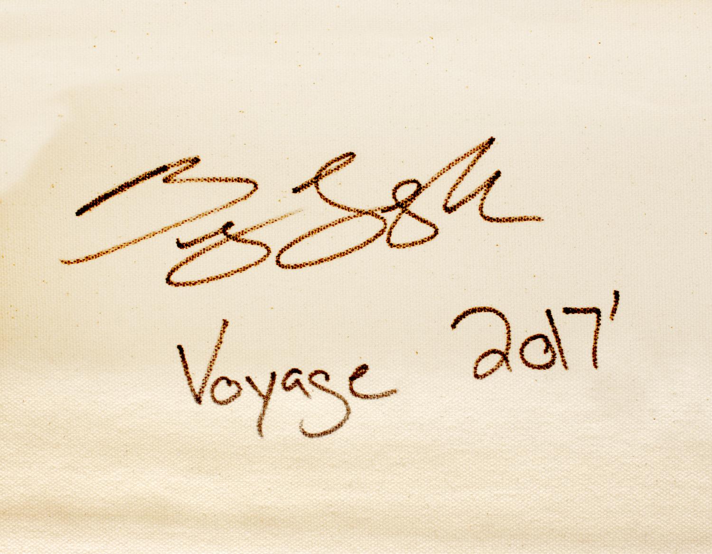 BRADY LEGLER __Voyage__48x48 Acrylic on Canvas sign.jpg