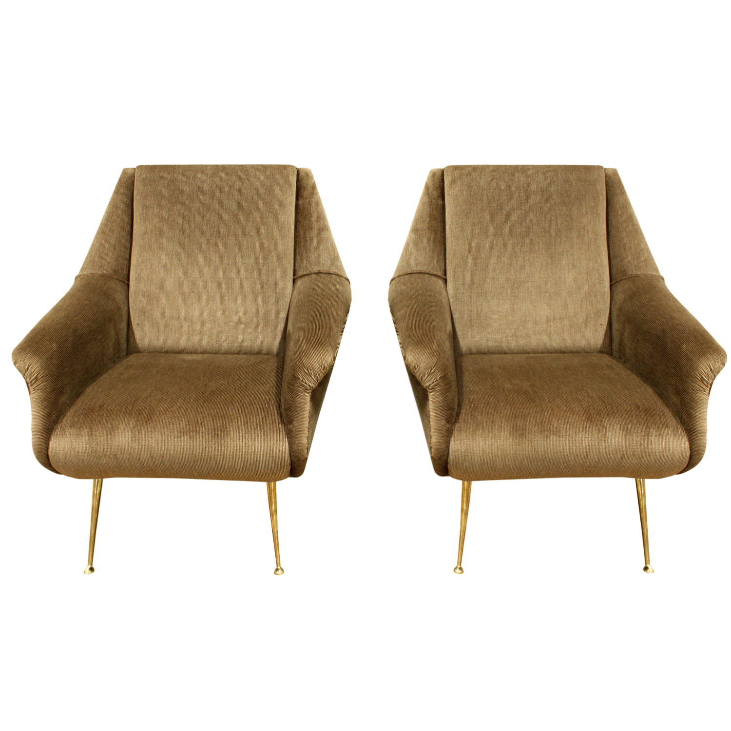 de Carli 120 sculptural brass legs loungechairs175 main.JPG