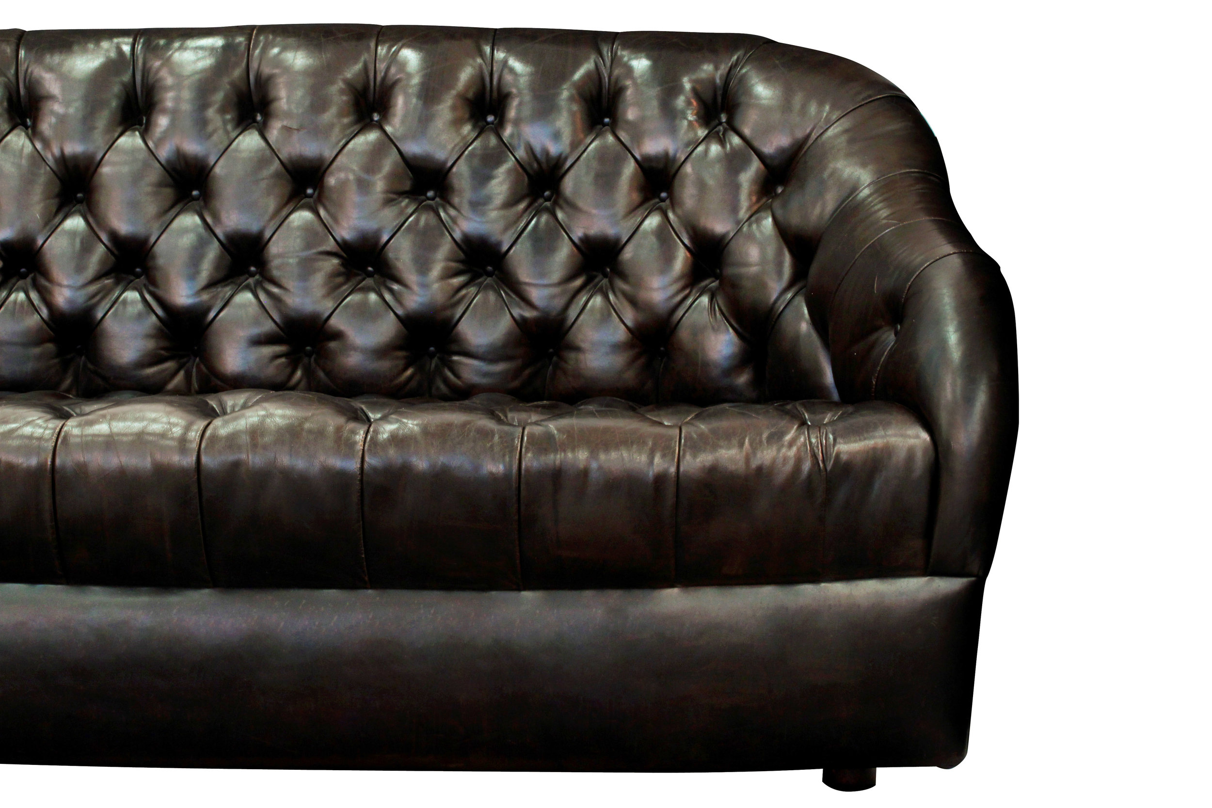 Bennett 85 tufted drk brown sofa82 detail4 hires.JPG