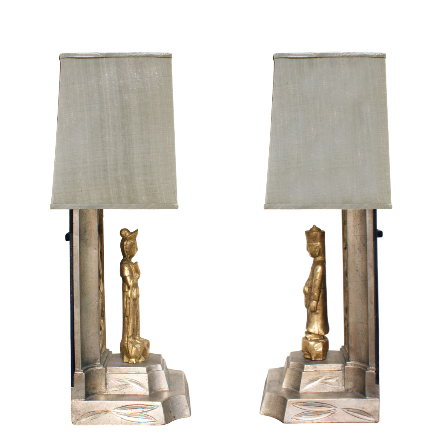 Mont 65 white+gold chinese figurs tablelamps351 sde.JPG
