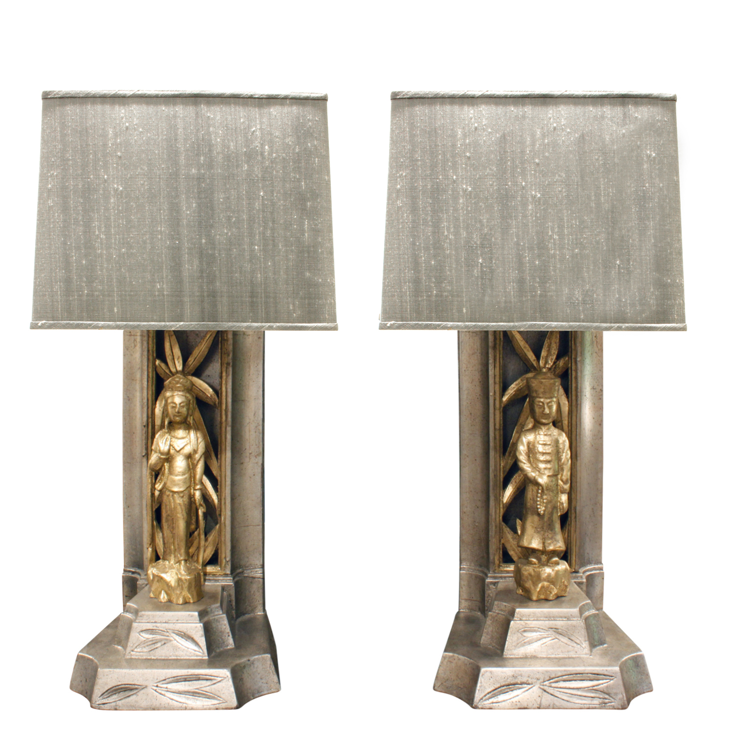 Mont 65 white+gold chinese figurs tablelamps351 main.JPG