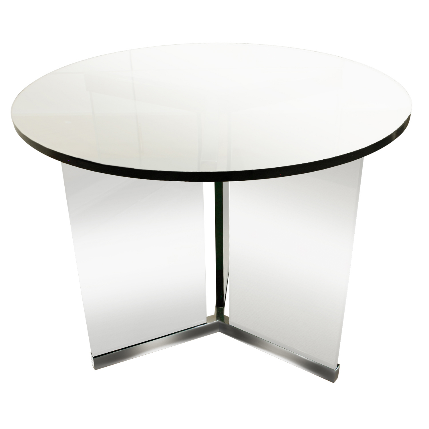 Pace 65 thickglass+chrome endtable183 frnt.JPG