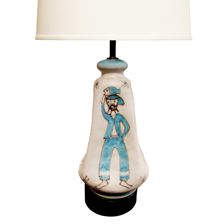CAS 35 Vietri figural ceramic tablelamp266 dtl2.jpg