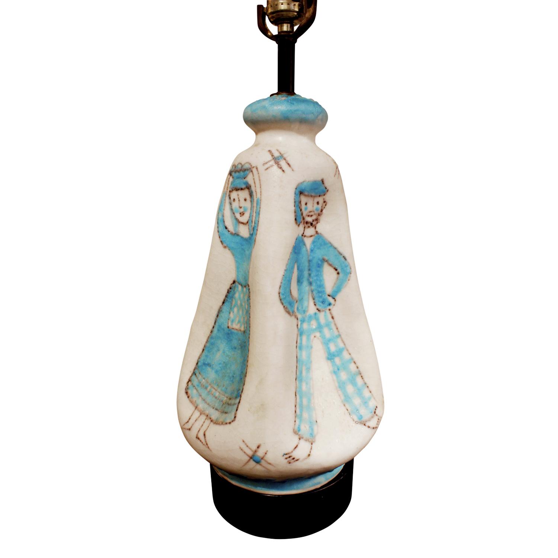 CAS 35 Vietri figural ceramic tablelamp266 dtl5.jpg