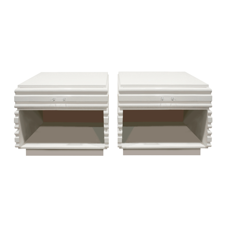 70s 65 white sculpted lucitepulls nightstands111 main2.jpg