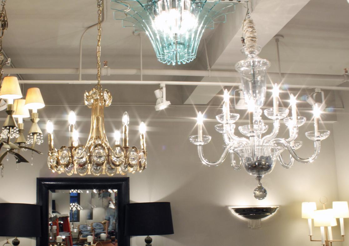 Seguso 120 clear+bottom ball chandelier240 atm.JPG