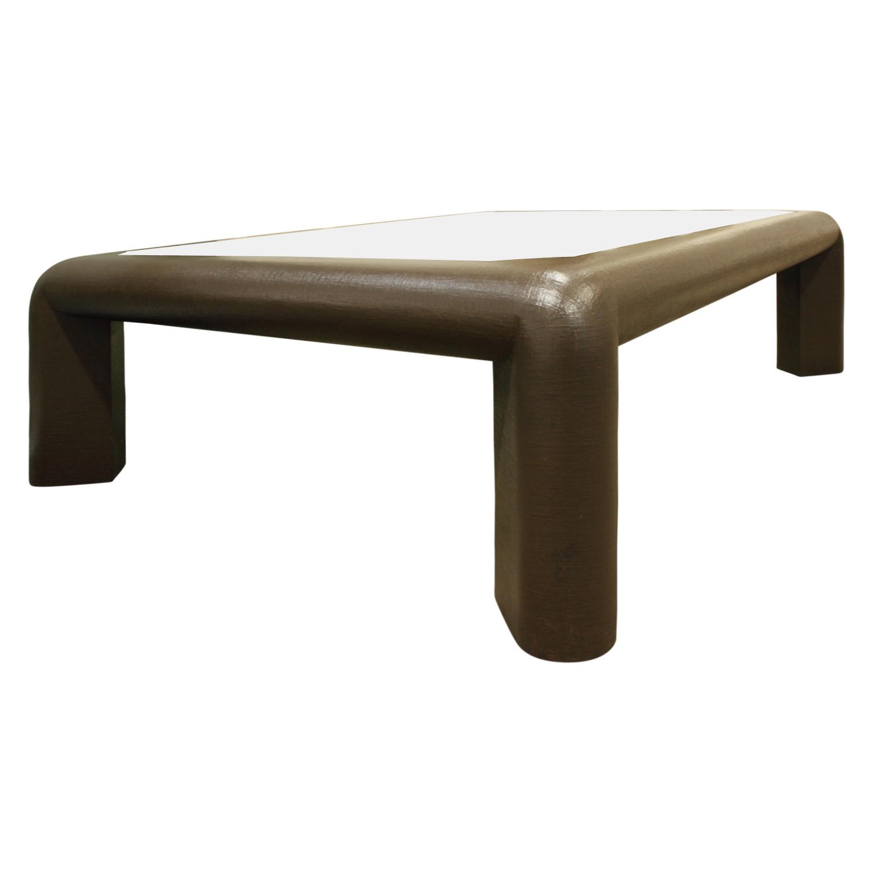 Springer 120 Mark ll linen+brass coffeetable435 angl2.JPG