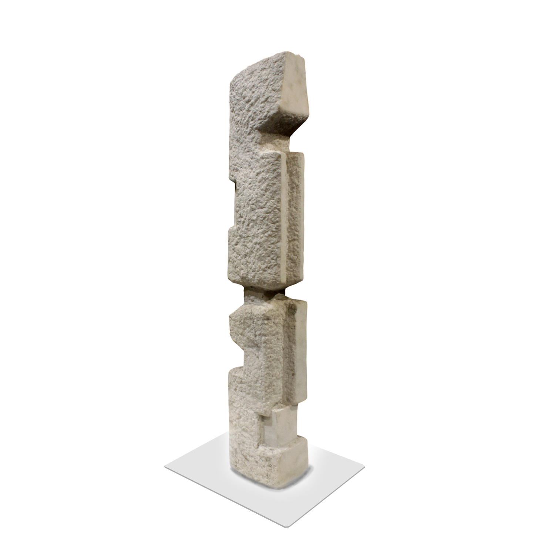 Feinberg 95 Totem Vermont Marble sculpture122 main.jpg