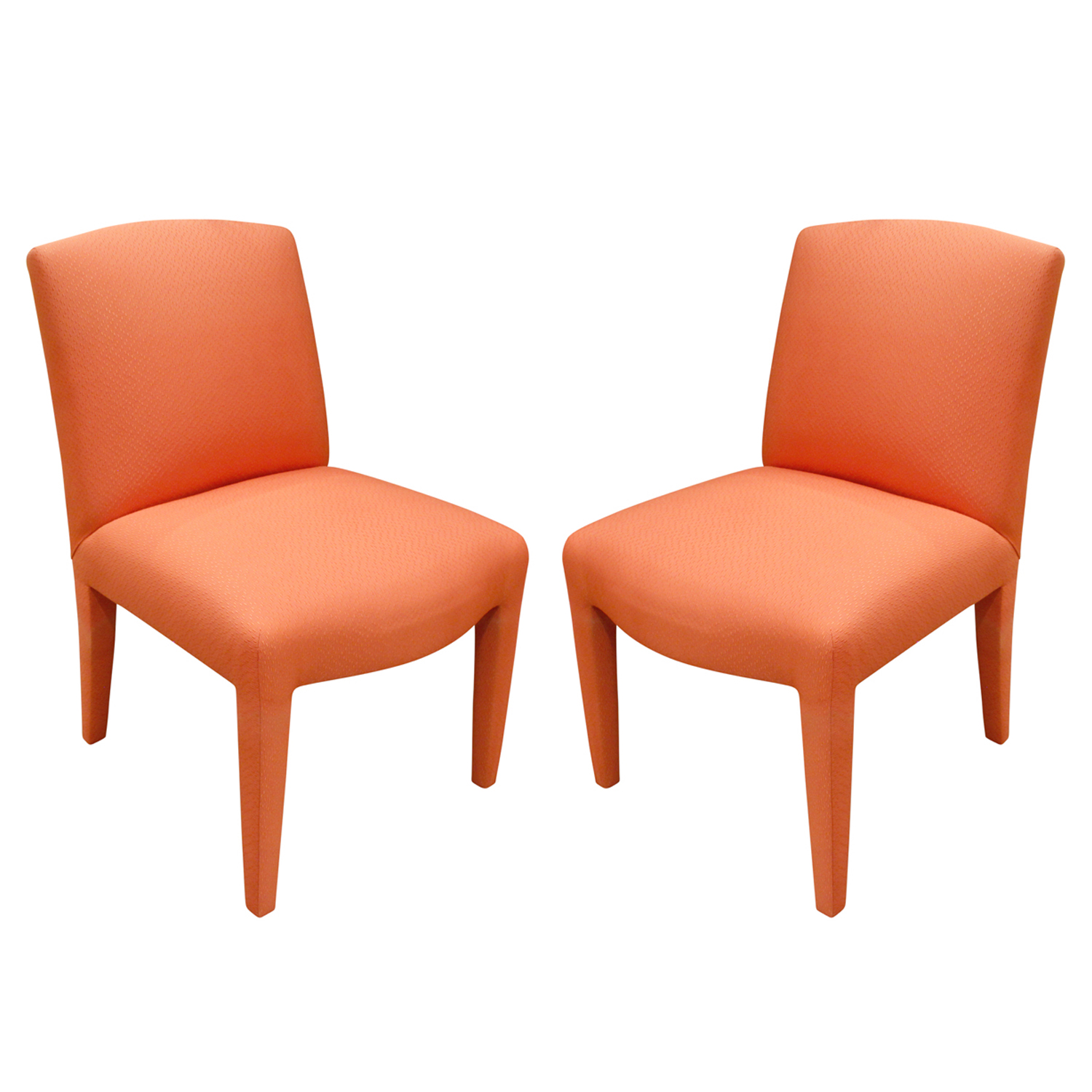 Donghia 120 set of 10 salmon pink diningchairs185 angl x 2.jpg