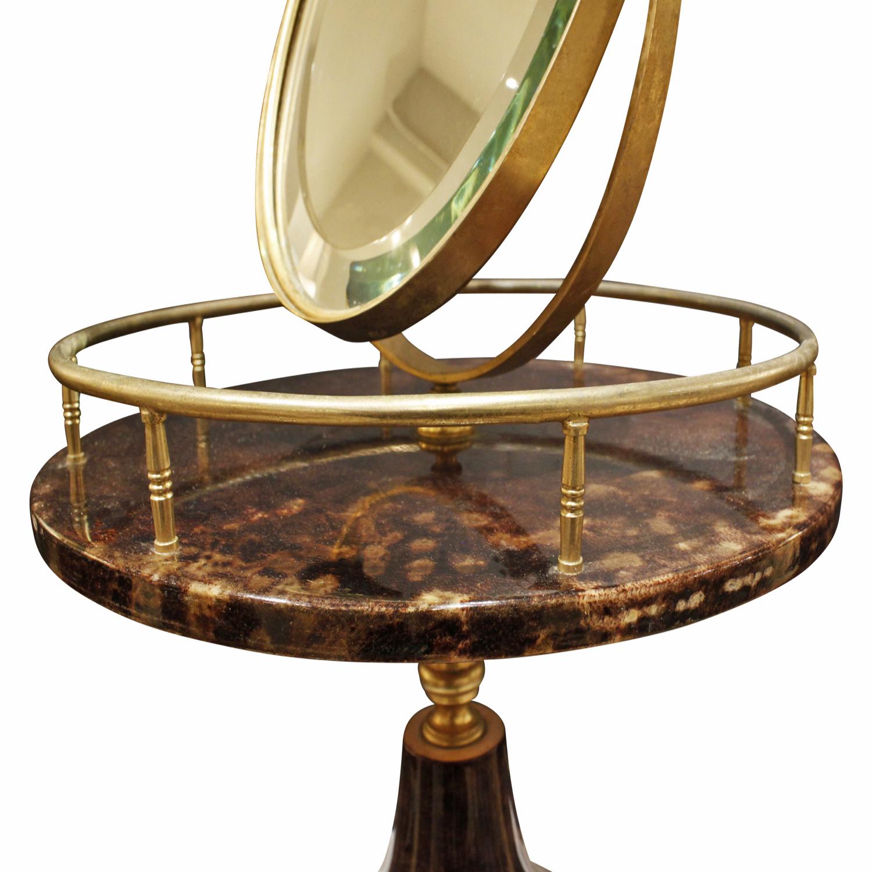 Tura 55 vanity drk goatskin+brass mirror236 dtl.jpg