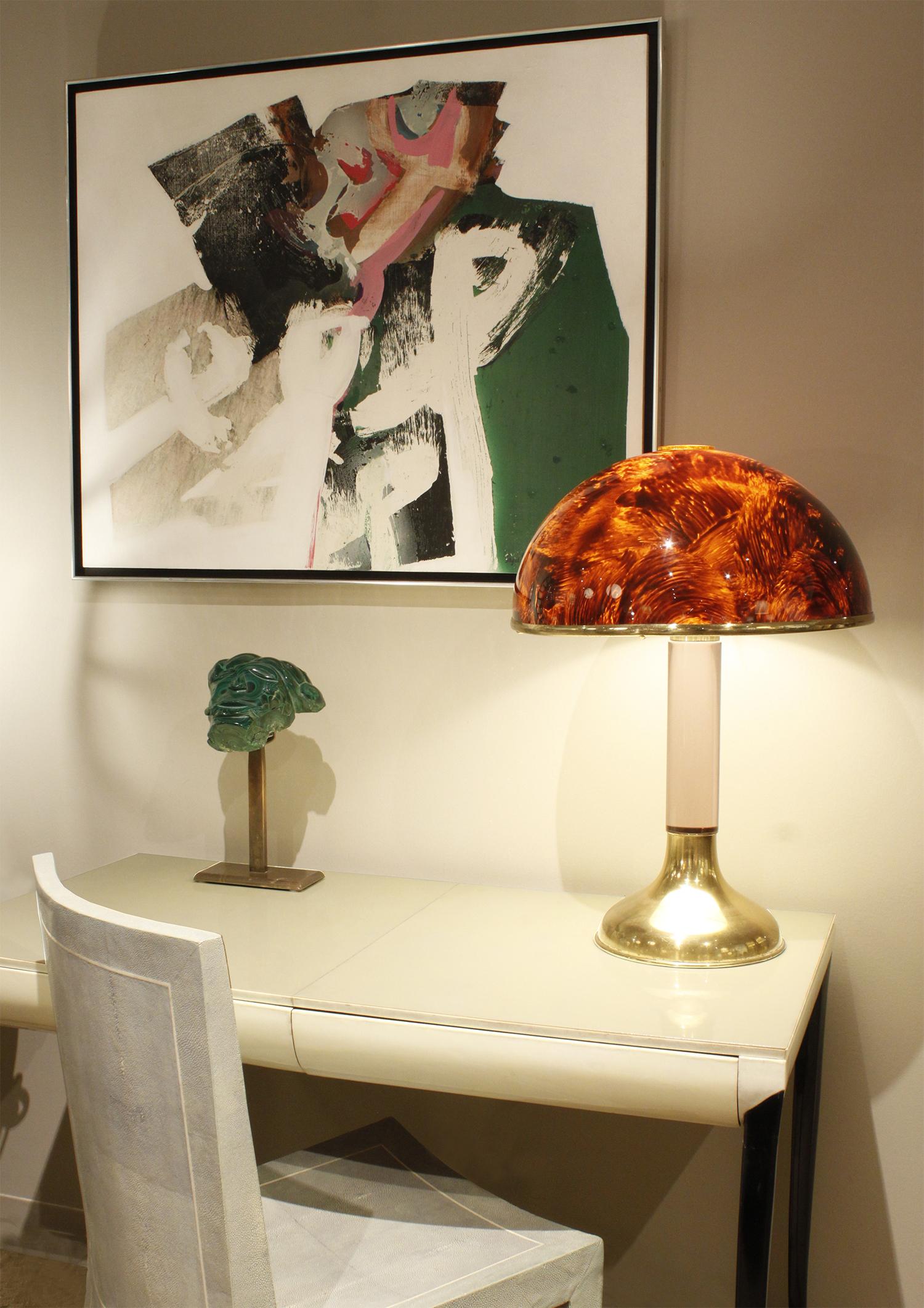 70s 35 tortoishell lucite shade tablelamp275 atm.jpg