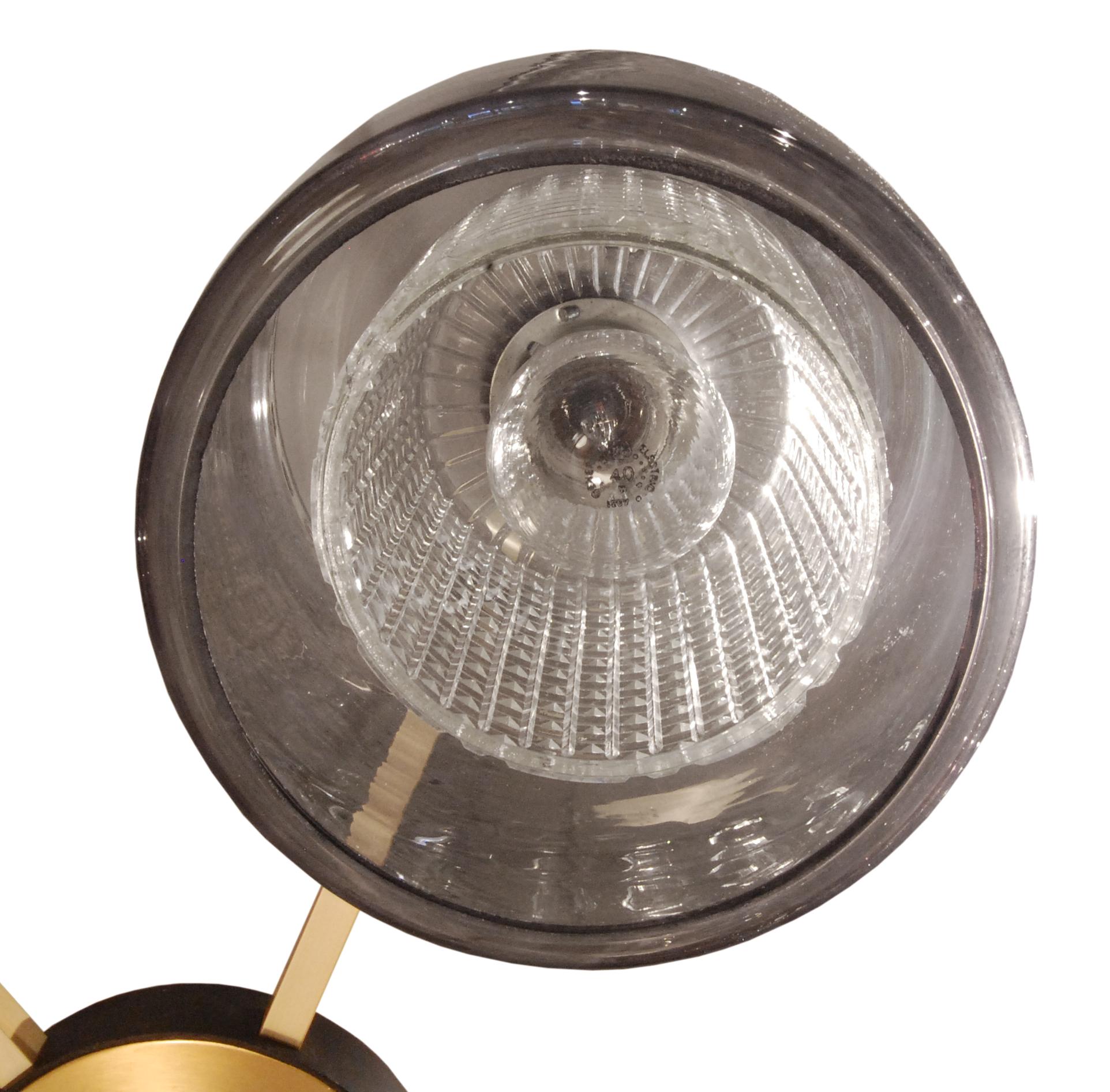 50's 45 Lrg rnd 6 glass shadesbrass chandelier157 bulb detail hires.jpg