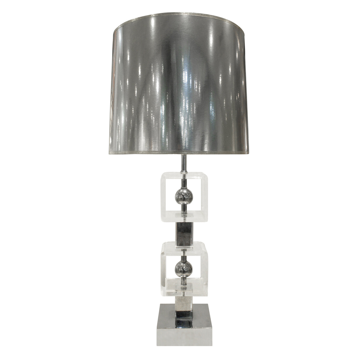 70s 35 lucite + chrome balls tablelamp288 main.jpg
