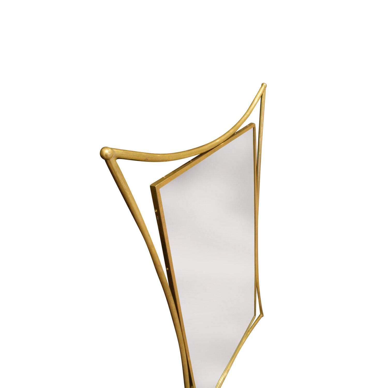 70s 55 Brutalist curved brass mirror199 dtl1.jpg