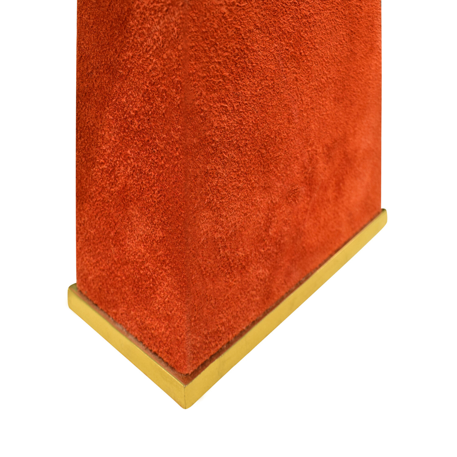 Springer 65 red suede over brass tablelamp290 dtl base2.jpg