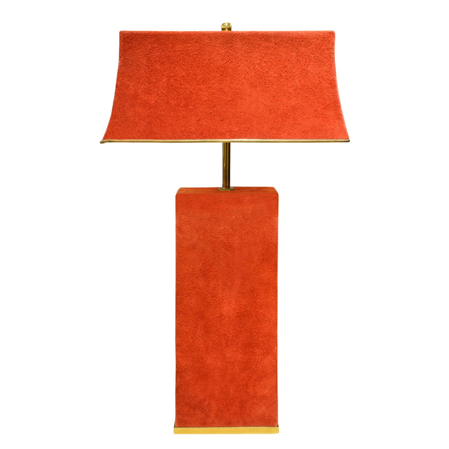 Springer 65 red suede over brass tablelamp290 main2.jpg
