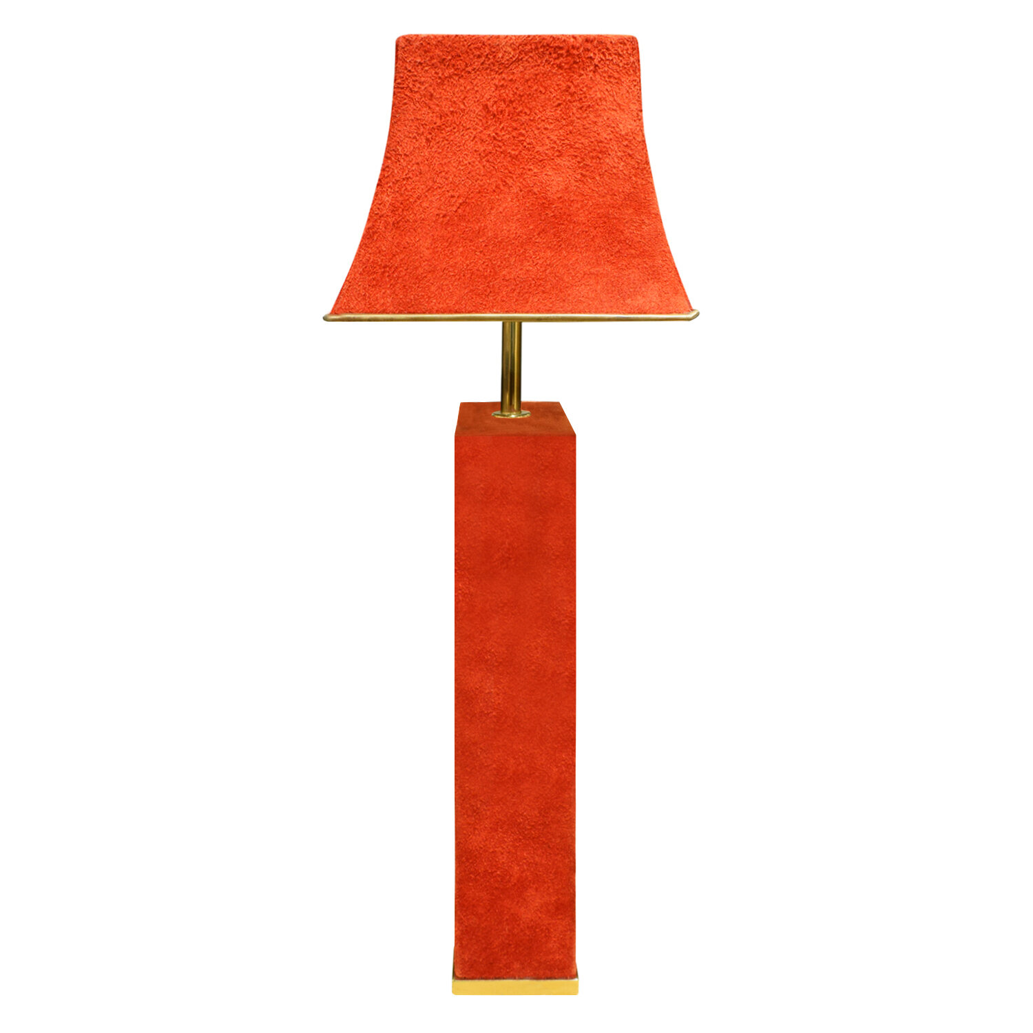 Springer 65 red suede over brass tablelamp290 side2.jpg