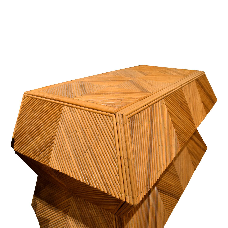 70s 120 trapezoidal bamboo chestofdrawers163 dtl angl.jpg